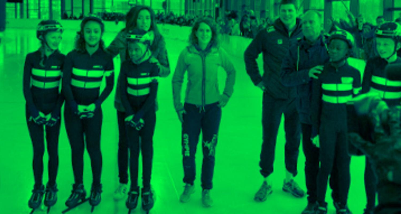 Sport schaatsen
