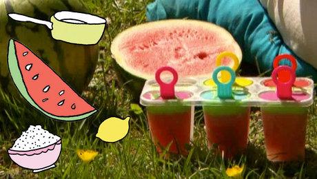 Diy watermeloen